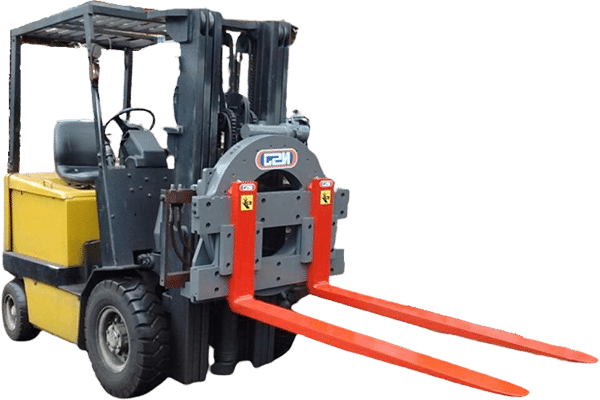 Girador / Rotator NSJ - Acessório que permite o giro 360º dos garfos em empilhadeiras